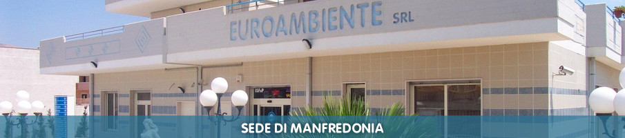 Sede Euroambiente di Manfredonia